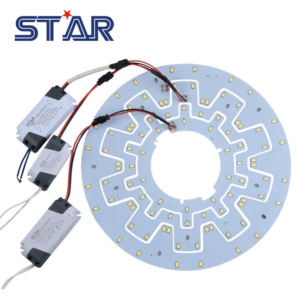 Replacement led light source for ceilingpanelkitchen light 7 20w replacement led light source for ceilingpanelkitchen light 7 20w 100 240v 2d cfl lamp retrofit pcb board with magnetdriver aloadofball Choice Image
