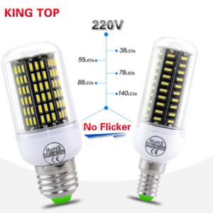 E14 / E27 LED BULBS LAMPS 38-140LEDS AC220V 230V 240V HIGH POWER