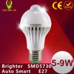 Motion Sensor LED Lamp